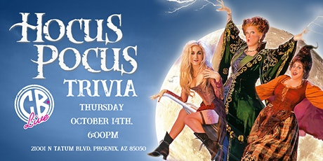 Hocus Pocus Trivia at CB Live tickets