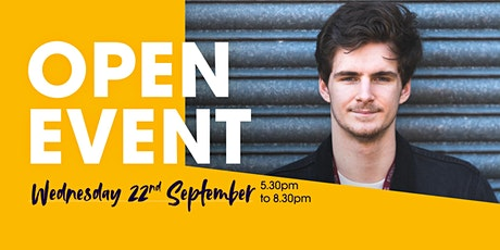 Burnley College Sixth Form Centre Open Event tickets