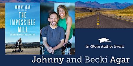 Author Night with Johnny & Becki Agar tickets