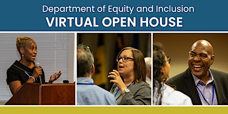 2021 Allegheny County Department of Equity & Inclusion Virtual Open House tickets