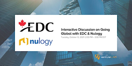 Interactive Discussion on  Going Global with EDC & Nulogy tickets