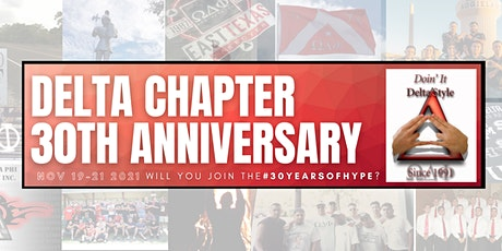 Delta Chapter 30th Anniversary tickets