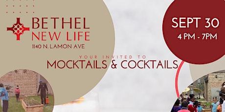Cocktails & Mocktails at Bethel New Life tickets