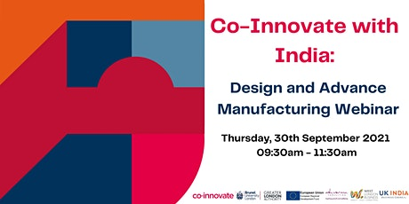 Co-Innovate with India: Design and Advanced Manufacturing tickets