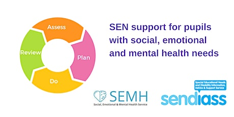 SEN support for pupils with social, emotional & mental health needs tickets
