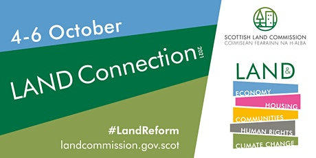 Land Connection 2021: Recovery & renewal–How can we create a greener fairer tickets