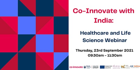 Co-Innovate with India: Healthcare and Life Sciences tickets