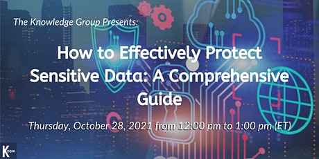 How to Effectively Protect Sensitive Data: A Comprehensive Guide tickets