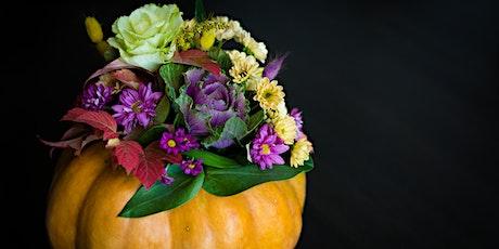 Design & Wine: Fall Harvest Floral Workshop tickets