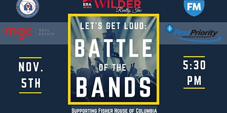 Let's Get Loud: Battle of the Bands Supporting Fisher House of Columbia tickets