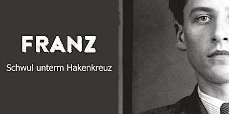 """Buchpremiere """"Franz"""" mit Jürgen Pettinger, Andreas Brunner & Samantha Gold tickets"""