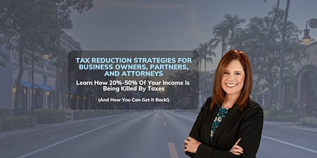 Top 5 Tax-Saving Strategies Business Executives Are Missing Out On Today. tickets