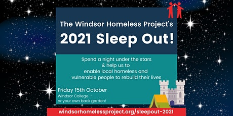 WHP's SleepOut 2021 tickets