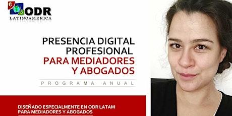 Programa  Presencia Digital Profesional para Mediadores, Abo... tickets