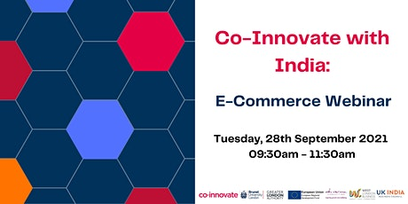 Co-Innovate with India:   E-Commerce Webinar tickets