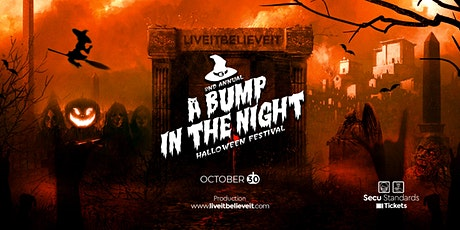 """2nd Annual """"A Bump in the Night"""" Halloween Festival tickets"""