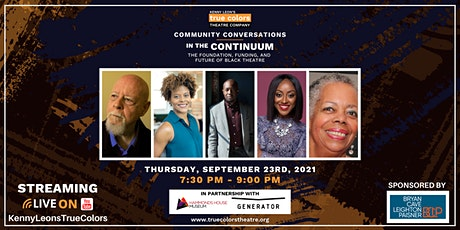 In the Continuum: the Foundation, Funding, and Future of Black Theatre tickets