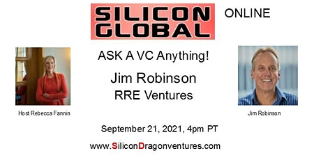 Silicon Global Online: Ask VC Jim Robinson Anything! tickets