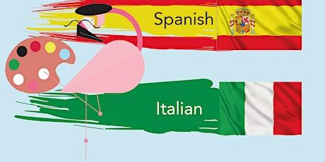 Copy of Free language taster class with Lingo Flamingo - Italian tickets