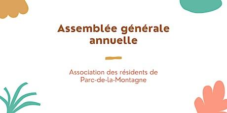 Assemblée générale annuelle billets
