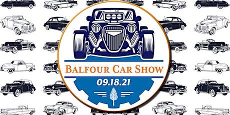 Balfour Central Park Car Show 2021 tickets