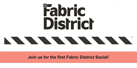 Fabric District CIC Summer Social tickets