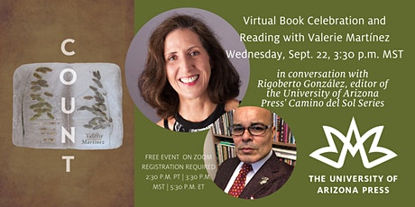 Virtual Book Celebration and Reading with Valerie Martínez tickets