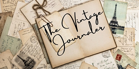 The Vintage Journal - a morning of decorating your own personal journal. tickets