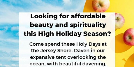 Sukkot by the Sea 2021 tickets
