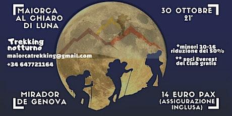 Maiorca al chiaro di luna / Mallorca a la luz de la luna entradas