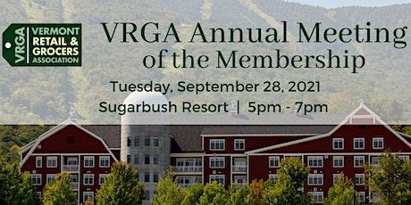 2021 VRGA Annual Meeting tickets