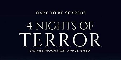 4 Nights of Terror tickets