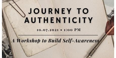 Journey to Authenticity Creative Workshop tickets
