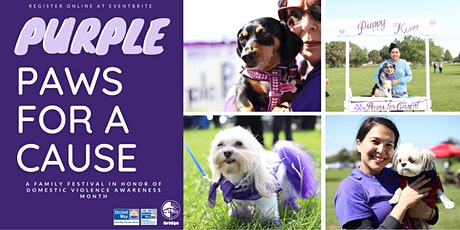 Purple Paws for a Cause Family Festival and Adoption Event tickets