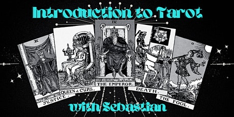 Introduction to Tarot Workshop (online) with Sebastian tickets