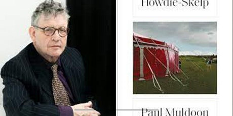 A Pop-Up Book Group with poet, Paul Muldoon (HOWDIE-SKELP) In Person/Online tickets