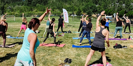 FREE Outdoor barre3 class at Bee Way Honey Pollination tickets