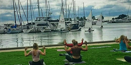 Sunday Yoga at McKinley Marina in the park tickets