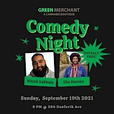 Green Merchant Comedy Night Ft. Che Durena! tickets
