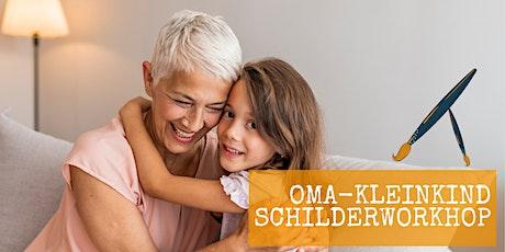 Oma - kleinkind schilderworkshop tickets