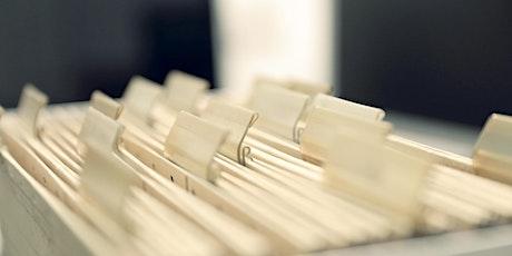 Seminar Dokumentenmanagement effizient gestalten Tickets