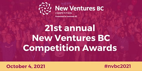 21st Annual New Ventures BC Competition Awards (web stream) tickets