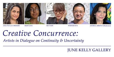 Creative Concurrence: Artists in Dialogue on Continuity & Uncertainty tickets