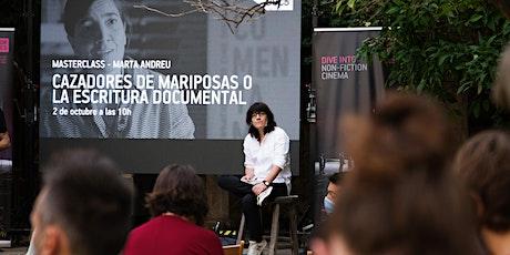 Masterclass Marta Andreu - MajorDocs 2021 entradas