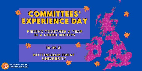 Committees' Experience Day: Piecing together a year in a Hindu Society tickets