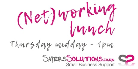 Sayers Solutions (Net)working lunch tickets