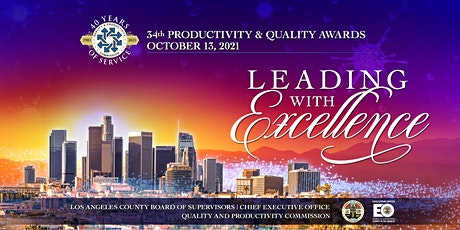 34th Annual Productivity and Quality Awards Program tickets