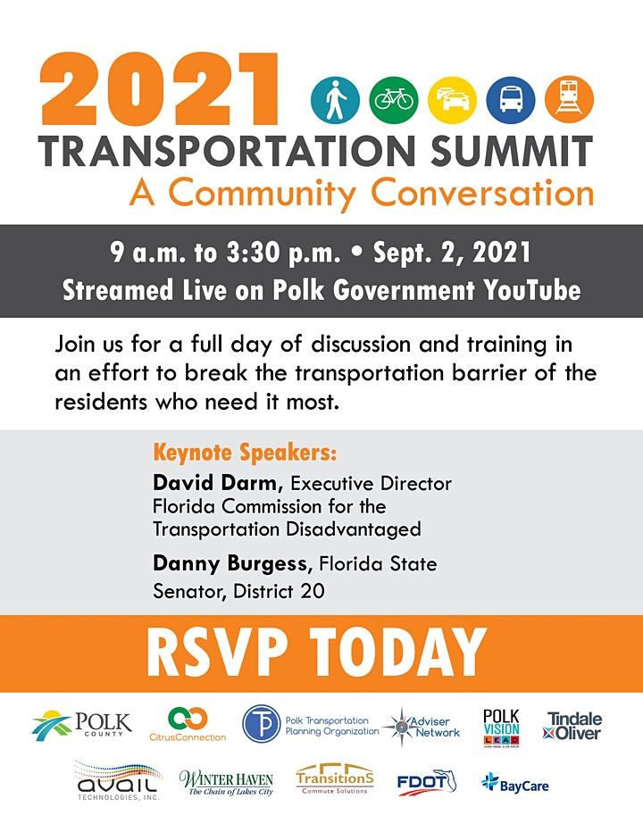2021 Transportation Summit: A Community Conversation image
