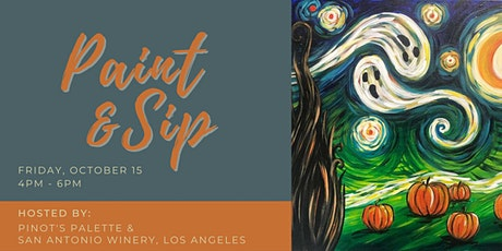 Paint & Sip @ San Antonio Winery, Los Angeles tickets