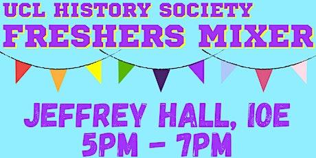 UCL History Society Freshers Mixer tickets